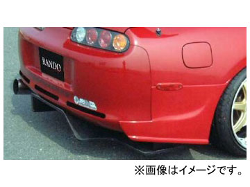 乱人 RANDO SPORTS リアディフェーザー(カーボン) トヨタ スープラ 80