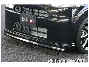 乱人 RANDO Style リアハーフスポイラー ダイハツ タント L-375S 標準車 前期 2007年12月~2010年08月