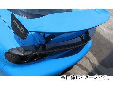 RE雨宮 リアスポイラー GTIII FRP ロータイプステー 22080220FGT03 マツダ RX-7 FD3S