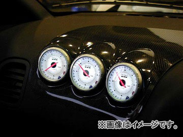 RE雨宮 エアバッグパネル 3連メーター ウェットカーボン DI-022030-013 マツダ RX-7 FD3S