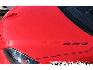 RE雨宮 エアースクープ&サイド ダクトボンネット FRP D0-112030-014 マツダ アクセラ MS