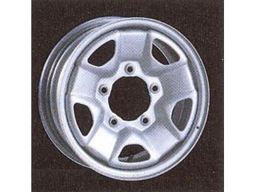 スチールホイール 4WD用ホイールII 1455E8 14インチ×51/2J 1本