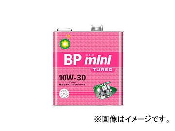 BP/ビーピー エンジンオイル BPミニ ミニターボ SM/GF-4 10W-30 入数:3L×6缶 JAN:4968708115135