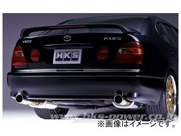 HKS マフラー LEGAL 3301-ST082 トヨタ アリスト JZS161 2JZ-GTE 1997年08月~2004年12月