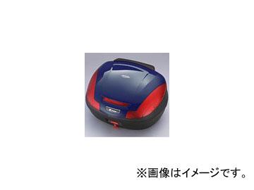 2輪 ワイズギア C47 リアボックストップカバー カラー:ダルパープリッシュブルーメタリックX Q5K-YSK-046-090