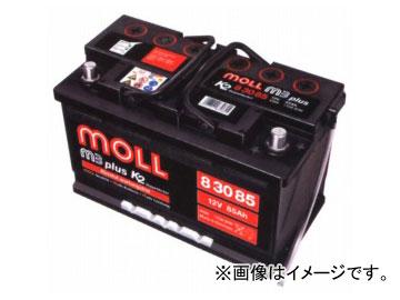 MOLL バッテリー M3 plus 容量:85 83085