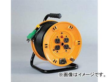 日動工業/NICHIDO 標準型ドラム(屋内型) 100V 20mタイプ アース付 NP-E24 JAN:4937305011546