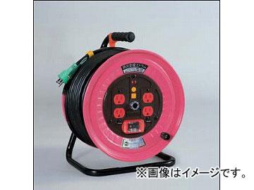 日動工業/NICHIDO 標準型ドラム(屋内型) 100V 30mタイプ アース付 EKタイプ ND-EK34PN