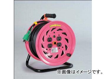 日動工業/NICHIDO 抜け止め式コンセントドラム(屋内型) 100V 30mタイプ アース付 NF-E34N JAN:4937305026212