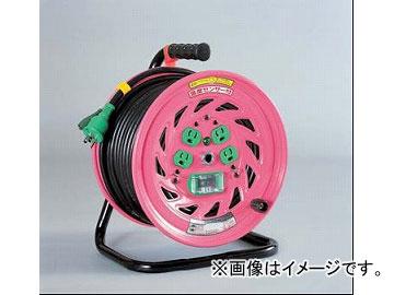 日動工業/NICHIDO 抜け止め式コンセントドラム(屋内型) 100V 30mタイプ アース付 EBタイプ NF-EB34N JAN:4937305026229