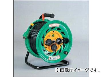 日動工業/NICHIDO 防雨・防塵型電工ドラム(屋外型) 100V 標準型30mタイプ アース付 FW-E33 JAN:4937305002919