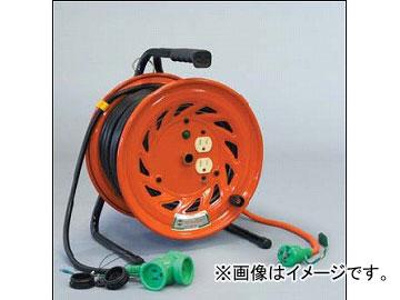 日動工業/NICHIDO 延長コード型ドラム 100V 先端トリプルコンセント部のみ防雨型(屋内型)30mタイプ アース付 RNW-E30S JAN:4937305002612