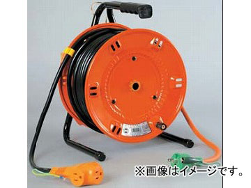 日動工業/NICHIDO 延長コード型ドラム 100V 標準型30mタイプ アース付 NL-E30S JAN:4937305002438