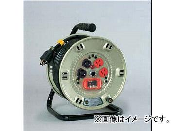 日動工業/NICHIDO コンビリールシリーズドラム(屋内型) 100V Aタイプ20m アース付 EKタイプ NPL-EK24-A15