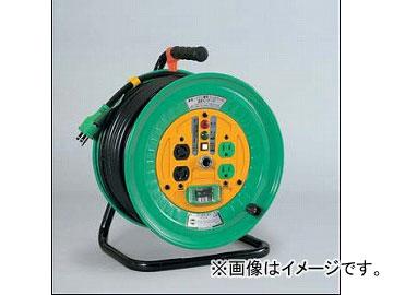 日動工業/NICHIDO コンビリールシリーズドラム(屋内型) 100V Eタイプ50m アース付 EBタイプ NDL-EB54-E15
