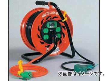 日動工業/NICHIDO マジックびっくリール(屋内型) 100V 30mタイプ アース付 EBタイプ RZ-EB30S JAN:4937305031698