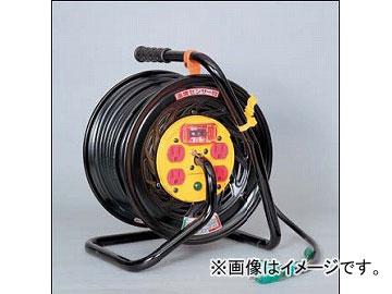 日動工業/NICHIDO アースチェックリール(屋内型) 100V マジックリール30mタイプ アース付 EKタイプ GZ-EK34 JAN:4937305035900