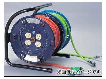 日動工業/NICHIDO ふたやくシリーズ(屋内型) 100V 電工ドラム20m+エアリール20mタイプ アース付 DA-E2420 JAN:4937305012857