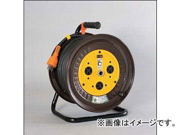 日動工業/NICHIDO 三相200V一般型ドラムドラム(屋内型) 30mタイプ アース付(φ35) ND-E330-20A JAN:4937305000021