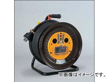 日動工業/NICHIDO 三相200V一般型ドラムドラム(屋内型) 30mタイプ アース付(φ35) ND-E330F-20A