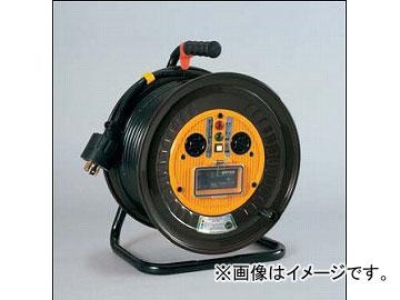 20mタイプ EBタイプ アース付(φ41) ND-EB320L-30A 三相200Vロック式(引掛式)ドラム(屋内型) 日動工業/NICHIDO