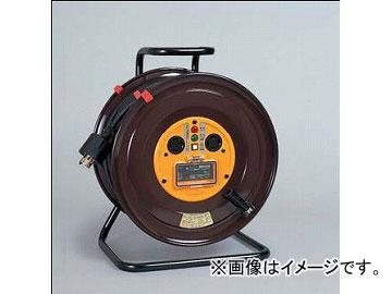 日動工業/NICHIDO 三相200Vロック式(引掛式)ドラム(屋内型) 30mタイプ アース付(φ41) EBタイプ NDC-EB330GLPN-30A