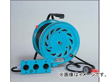 日動工業/NICHIDO 三相200V延長コード型ドラム(屋内型) びっくリール30mタイプ アース無 RND-330S