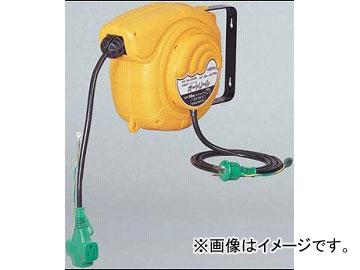 日動工業/NICHIDO 100V自動巻きリール(オートリール)(屋内型) アース付 10m AL-E103N