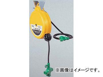 日動工業/NICHIDO 100V自動巻きリール(オートリール)(屋内型) 2芯タイプ 5m AL-053