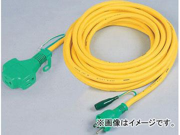 日動工業/NICHIDO 延長コード100V トリプルポッキン/アース付 VCT1.25mm2 20m PPTVS-20E JAN:4937305032855