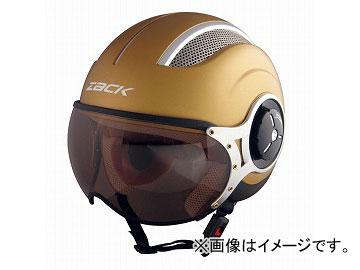 2輪 TNK工業 ヘルメット パイロットJET ZQ-8 マットゴールド L(58~60cm未満) JAN:4984679510335