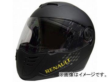 2輪 石野商会 RENAULT システムヘルメット RN-333 マットブラック サイズ:フリーサイズ(57~60cm未満) JAN:4937641071259