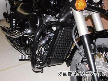2輪 キジマ バンパー ブラック フロント ホンダ シャドウ400 2009年~