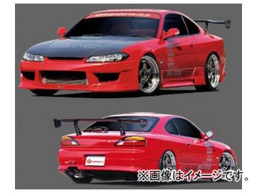 GPスポーツ フロントバンパースポイラー G-SONIC ZERO ONE 030421 ニッサン シルビア S15
