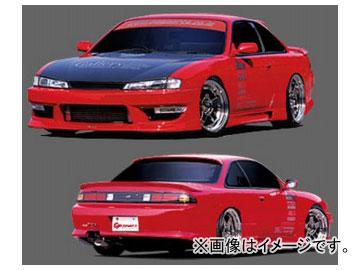 GPスポーツ サイドステップ G-SONIC ZERO ONE 030403 ニッサン シルビア S14 M/C後