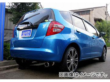 Jworks/ジェイワークス マフラー Shiny Mufler SH-001 ホンダ フィット DBA-GE6