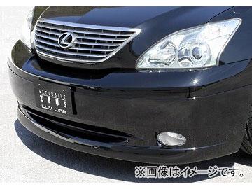 エムズスピード LUV LINE フロントハーフスポイラー 未塗装 トヨタ ハリアー MCU3/ACU3