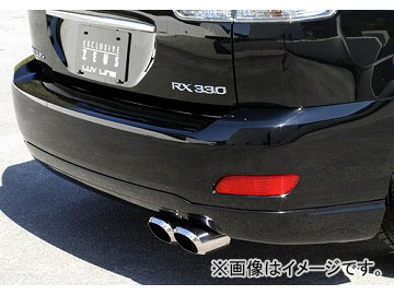 エムズスピード LUV LINE リアアンダースポイラー 未塗装 トヨタ ハリアー MCU3/ACU3