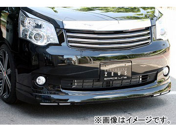 エムズスピード GRACE LINE フロントハーフスポイラー 未塗装 トヨタ ノア ZRR G/X/YY グレード MC後