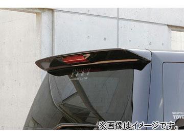 エムズスピード EXE LINE リアウィング Ver.2 未塗装 トヨタ アルファード ANH・MNH MC後