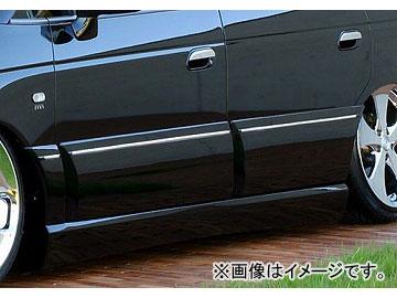 エムズスピード EXE LINE サイドステップ&ドアパネル 未塗装 ホンダ オデッセイ RA6・7