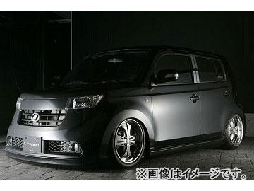 エムズスピード SMART LINE フロント・サイド・リア・エキゾーストカッターセット 未塗装 トヨタ bB Z/S Version MC前