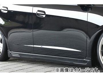 エムズスピード SMART LINE サイドステップ 未塗装 ホンダ フィット GE6.7.8.9 G.L.X グレード