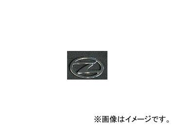 エムズスピード アクセサリー エンブレム Zマーク D クローム 160mm×108mm