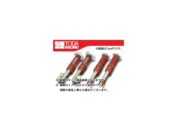 戸田レーシング/TODA RACING ファイテックス ダンパー/FIGHTEX DAMPER ダンパー KIT[ダンパー+スプリング+ピロアッパー] 1台分 TypeDA 51520-CN9-000 ランサー CN9A