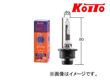 小糸製作所/KOITO ノーマルバルブ D4R 12V車対応(42V 35W) 品番:3507K 四輪車HID前照灯用