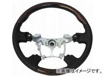 オートインフォ コンビステアリング ブラウン×ブラック トヨタ 20系アルファード・ヴェルファイア
