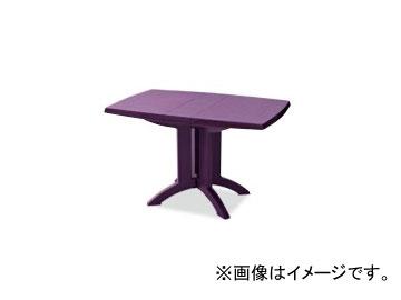 テラモト/TERAMOTO ベガFテーブル118×77 7.パープル MZ-594-000