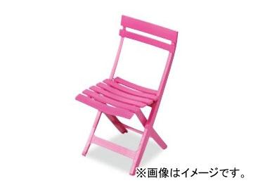 テラモト/TERAMOTO マイアミフォールディングチェア 6.ピンク MZ-594-100