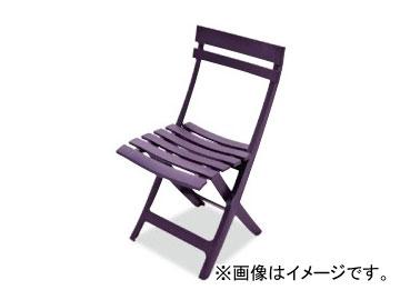 テラモト/TERAMOTO マイアミフォールディングチェア 7.パープル MZ-594-100